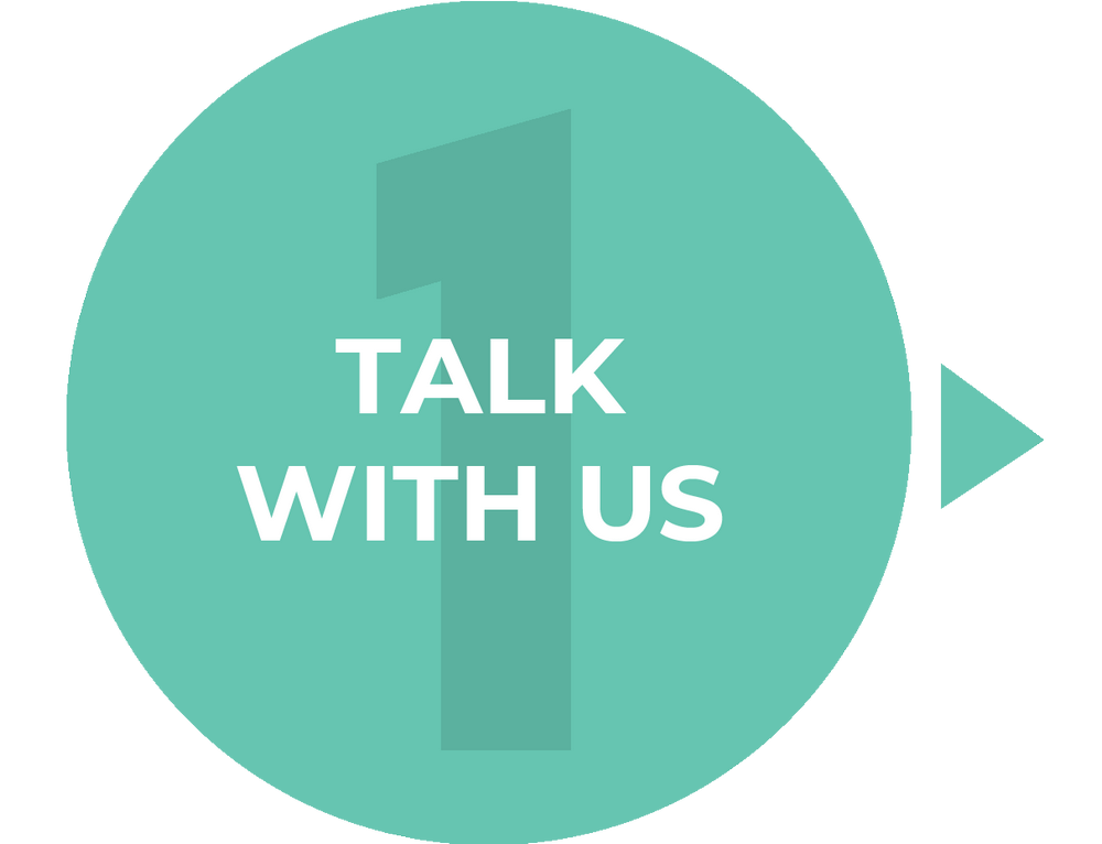 1. Talk with us