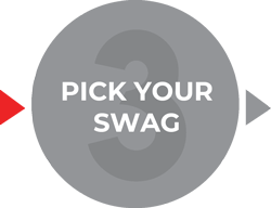 3. Pick your swag